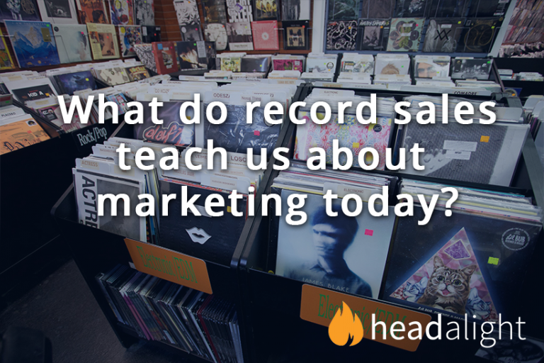 What do record sales teach us about marketing today