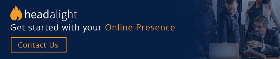Get started with your online presence.